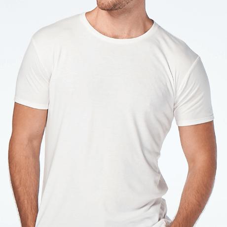 Crewneck White T-shirt from CJA