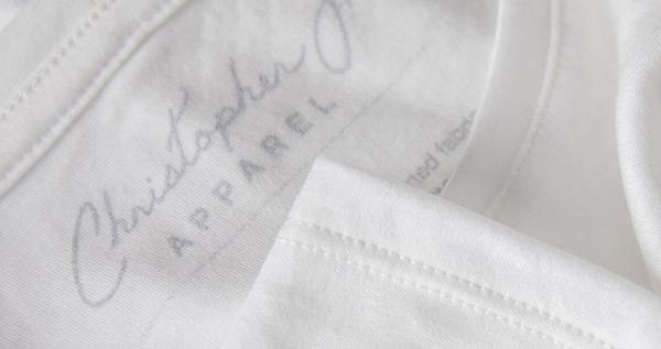 Tencel fabric in Christopher J. Apparel