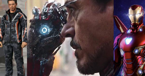 Tony stark nanosuit